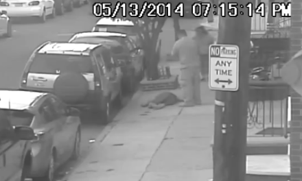 Crack Head Attacks Man With a Bat, Promptly Gets Put to Sleep