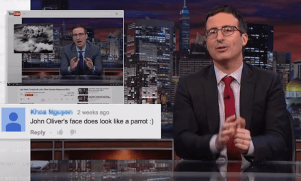 John Oliver Responds to Fan Mail