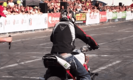 This Stunter Is Talented And Insane