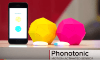 Phonotonic Turns Movement into Music