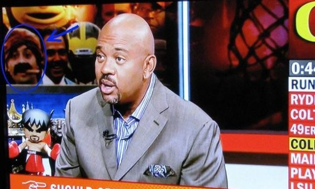 Look Who Made It to Pardon the Interruption This Evening