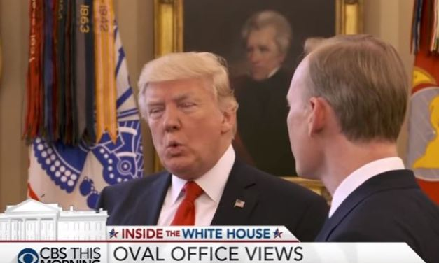 Trump Ends CBS Interview When Asked About Obama Wiretapping