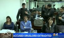 Suspected Colombian Drug Boss Extradited & Booked In Miami