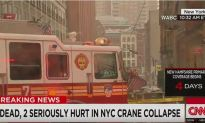 Crane Collapses in New York, Kills 1