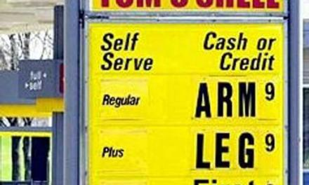 Gas Prices Fall 2% After News Of Bin Laden's Death