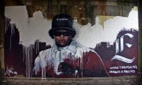 Chronic Art: Eazy-E Mural In The Netherlands