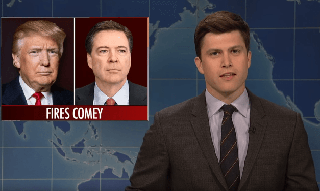 SNL's Weekend Update on James Comey's Firing