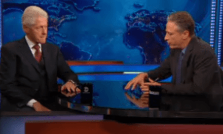 Bill Clinton on the Daily Show