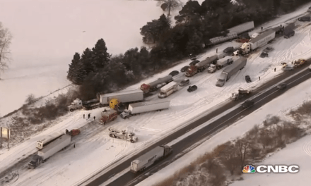 Check Out This 100 Vehicle Pile Up on I-94