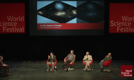 The Whole Universe May Just Be a Hologram