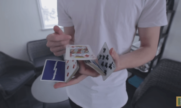 There is Something Strangely Calming About This Guys Cardistry