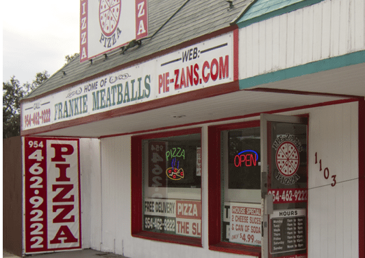 Pie-Zan's Home of Frankie Meatballs: Voted #1 in Fort Lauderdale