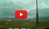 Airplane Crash at Bagram Air Field Caught On Camera