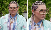 Check Out Kesha on the Set of Her New Video