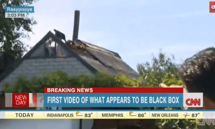 MH17 Passenger Fell Through The Roof of a Civilian's Home