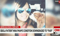 Ebola Patient Nina Pham Downgraded to Fair Condition