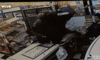 Massachusetts Convenience Store Owner Takes On Robber With Knife!