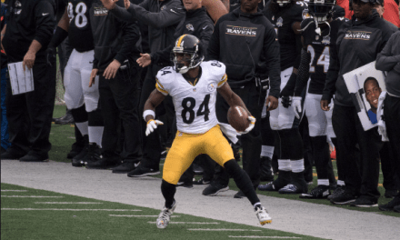 Steelers Antonio Brown Becomes Highest Paid Receiver In NFL