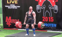 Europe's Strongest Man 2015- Mountain Wins Again