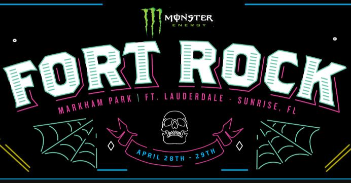 Fort Rock 2018 Hard Rock / Metal Fest Coming to South Florida