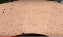 Police Pose As Homeless To Catch Texters