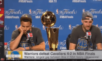Is Klay Thompson Mocking Lebron In this Post Game Interview?