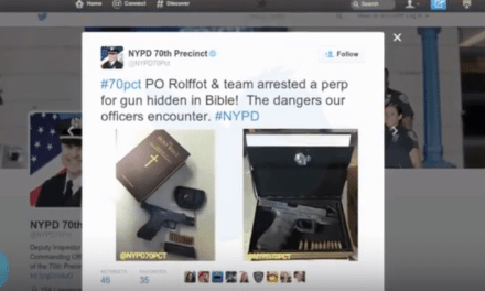 Police Find Loaded Gun In Hollowed-Out Bible