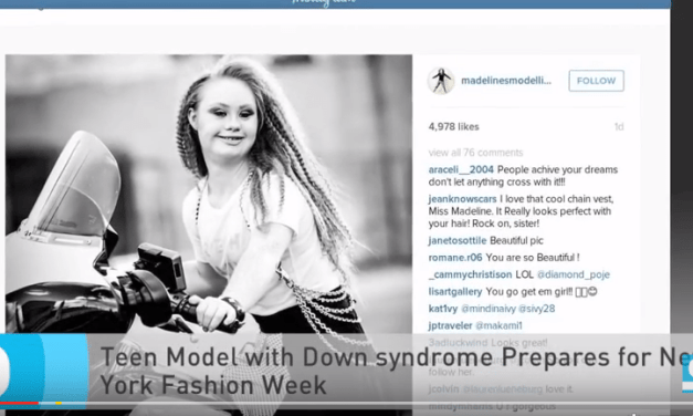 Teen Model Madeline Stewart With Down Syndrome Prepares For New York Fashion Week