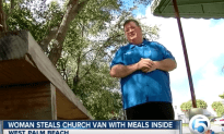 Woman Steals Church Delivery Van With Meals Inside