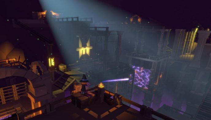 Gameplay del videojuego vasco Sorginen Kondaira