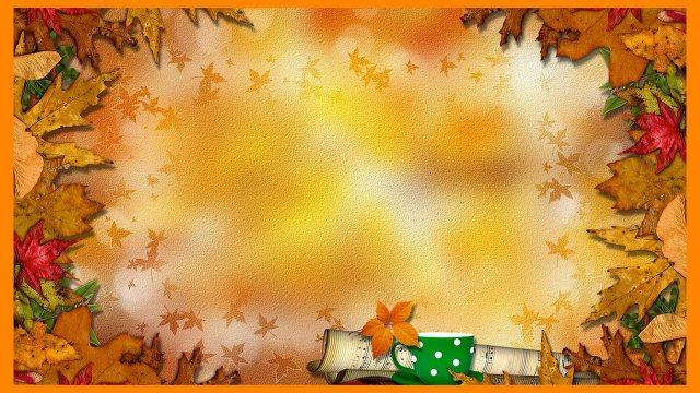 Футаж Осенний фон 1 HD