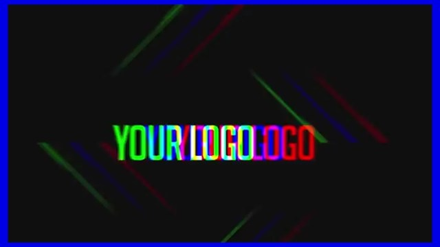 Проект After Effects — Dubstep Glitch Logo