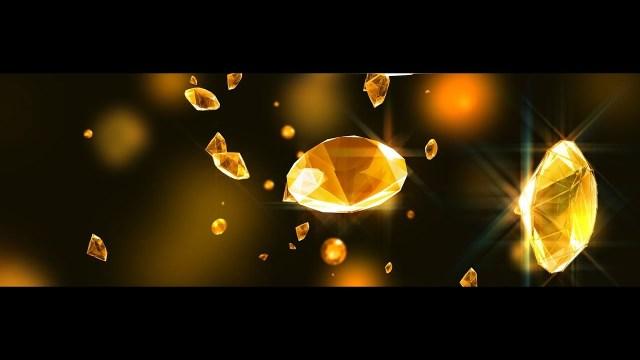 FOOTAGE YELLOW DIAMONDS UHD 4K