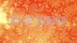 FOOTAGE ORANGE LACE BACKGROUND — Full HD 1080p