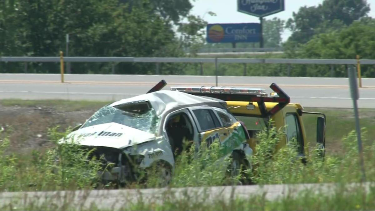 BATAVIA/Person transported by Mercy Flight after rollover