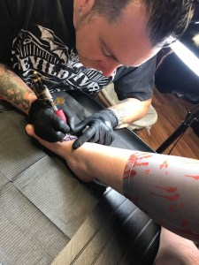 Wyoming County Attica Tattoo Artist Opens New Shop In His Hometown Video News Service