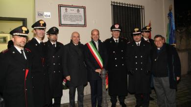 "Photo of Striano – Cerimonia di consegna ""targa commemorativa"" ai carabinieri"