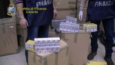 Photo of Mondragone – GdF sequestra 60 kg di sigarette di contrabbando
