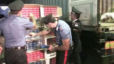 Photo of Sant'Antonio Abate – Sequestrate oltre 7 tonnellate di sigarette di contrabbando