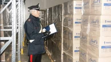 Photo of Nola – Carabinieri ritrovano 5 tonnellate di cioccolatini Lindt rubati