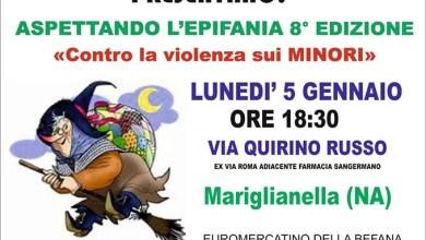 Photo of Mariglianella – Dedicata a Fortuna e Antonio la befana delle Federcasalinghe