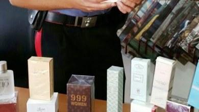 """Photo of San Giuseppe Vesuviano – """"Profumi pezzottati"""" nel negozio di una cittadina cinese"""