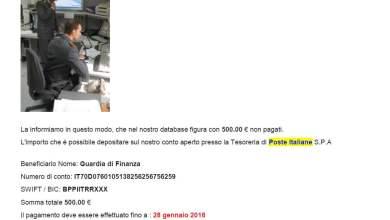 Photo of Nuova truffa on line – la GdF invita alla prudenza