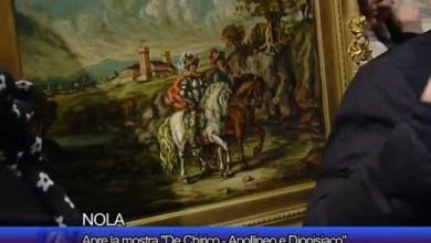 "Photo of Nola – Apre la mostra ""De Chirico – Apollineo e Dionisiaco"""