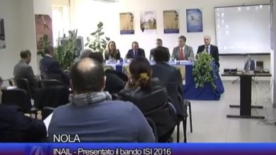 Photo of Nola – INAIL: Presentato il bando ISI 2016