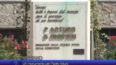 Photo of Visciano – Un monumento per Padre Arturo