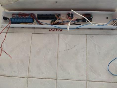 Розміщення обладнання управління табло