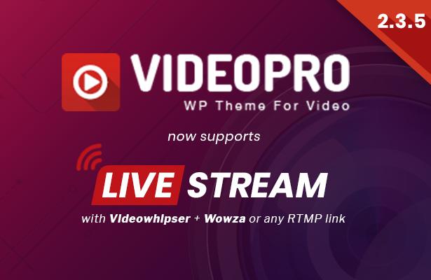 VideoPro - Video WordPress Theme - 8
