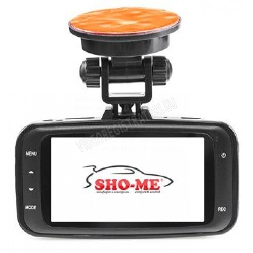 Обзор видеорегистратора Sho-Me HD-8000sx. Вид сзади