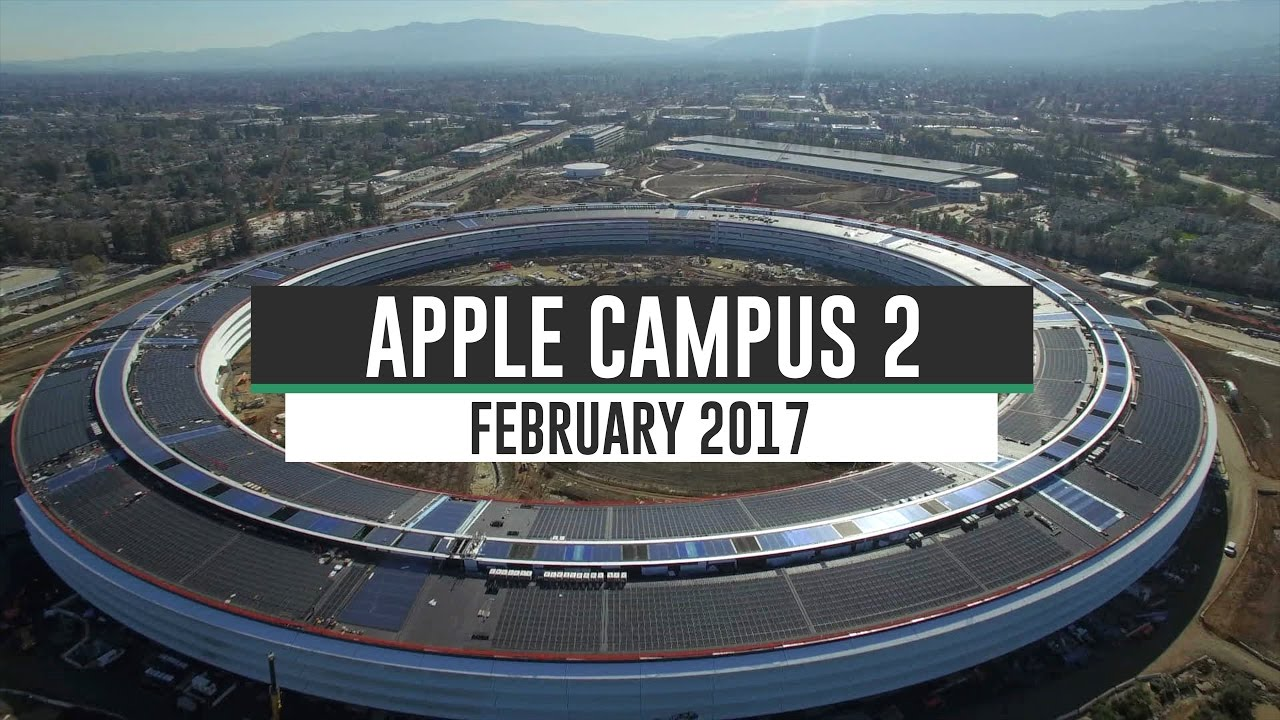 Apple Campus 2 Construction Update February 2017 4K